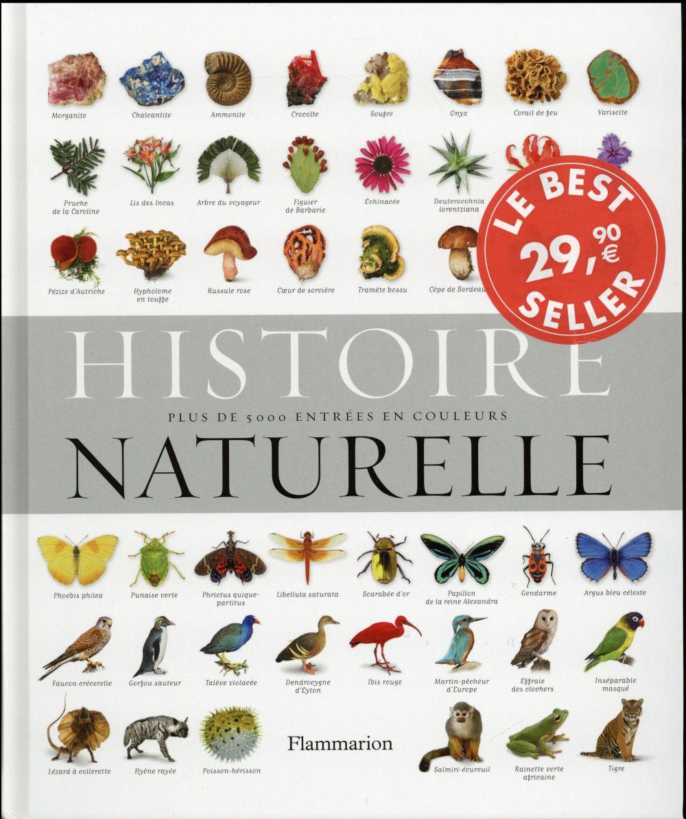 HISTOIRE NATURELLE - PLUS DE 5 000 ENTREES EN COULEURS COLLECTIF Flammarion