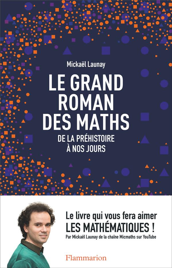 LE GRAND ROMAN DES MATHS : DE LA PREHISTOIRE A NOS JOURS