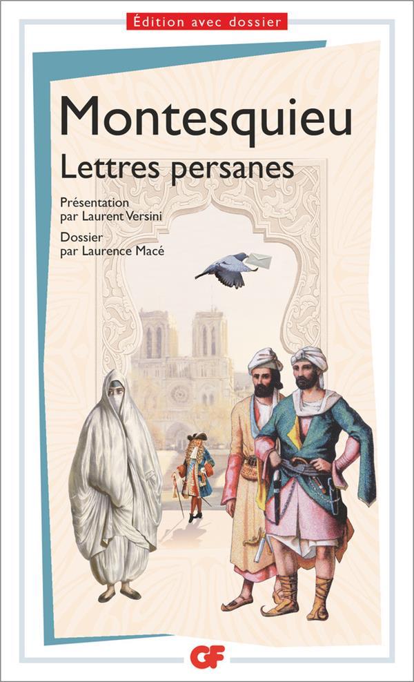 LETTRES PERSANES - PREPAS SCIENTIFIQUES 2016-2017