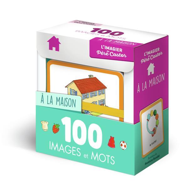 L'IMAGIER DU PERE CASTOR EN 100 IMAGES ET MOTS - LA MAISON