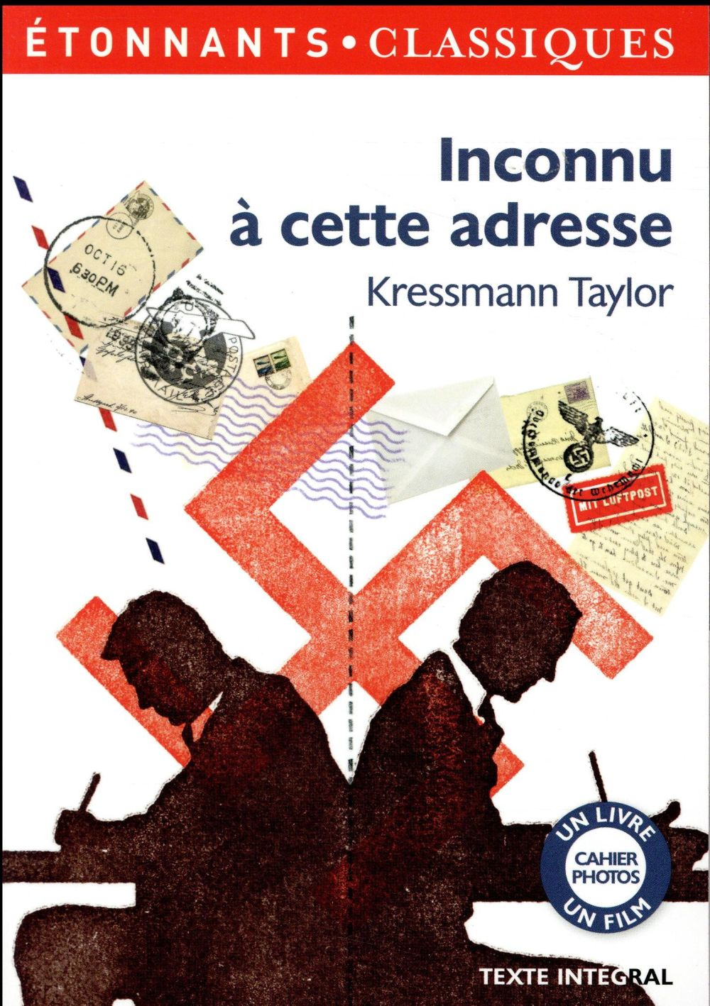 INCONNU A CETTE ADRESSE Taylor Kathrine Kressmann Flammarion
