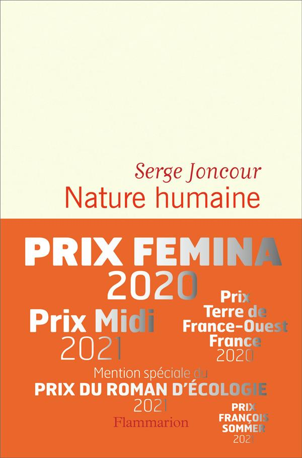 NATURE HUMAINE JONCOUR, SERGE FLAMMARION