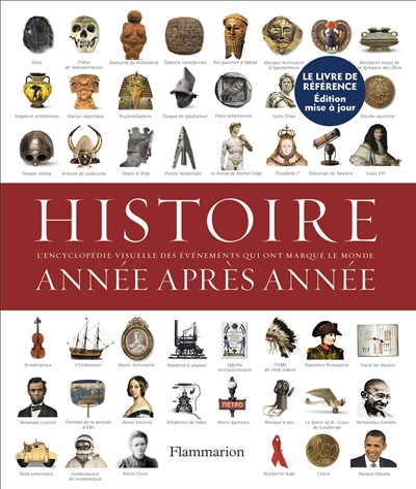 HISTOIRE ANNEE APRES ANNEE - ENCYCLOPEDIE VISUELLE DES EVENEMENTS QUI ONT MARQUE LE MONDE COLLECTIF FLAMMARION