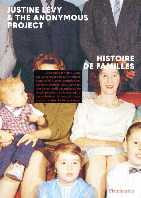 HISTOIRE DE FAMILLES  FLAMMARION