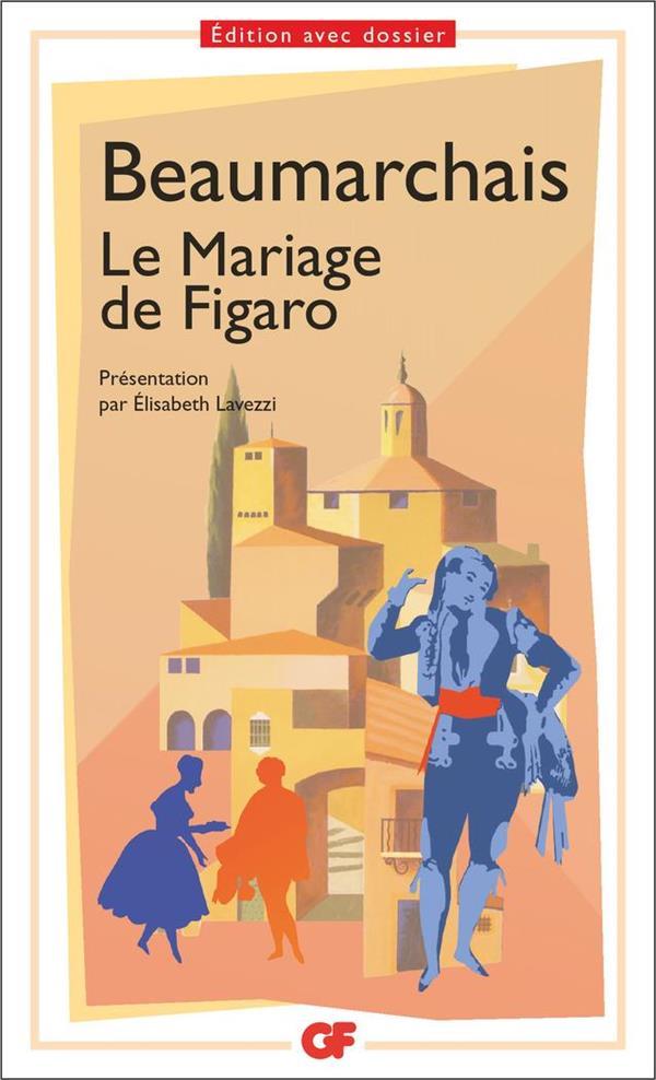 LITTERATURE ET CIVILISATION - LE MARIAGE DE FIGARO  FLAMMARION