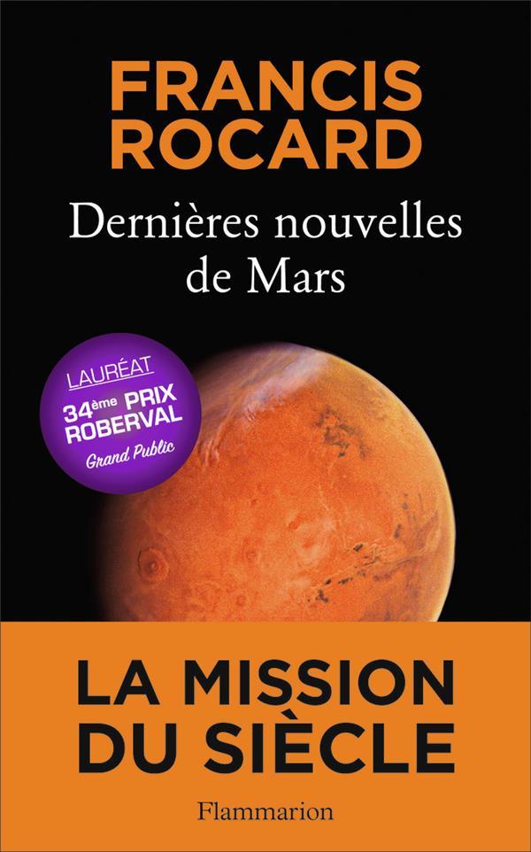 DERNIERES NOUVELLES DE MARS