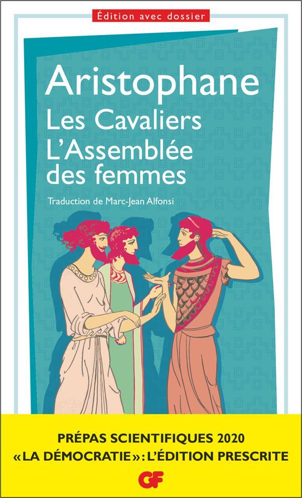 LES CAVALIERS  -  L'ASSEMBLEE DES FEMMES