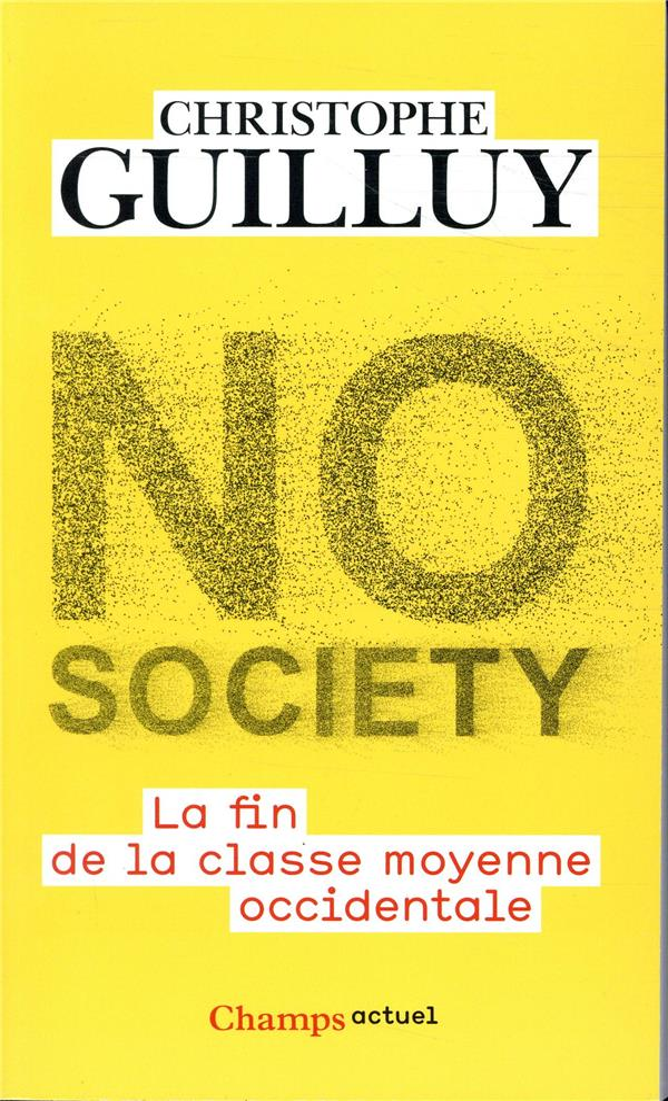 NO SOCIETY  FLAMMARION