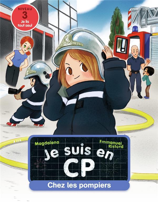 JE SUIS EN CP - T13 - CHEZ LES POMPIERS  FLAMMARION
