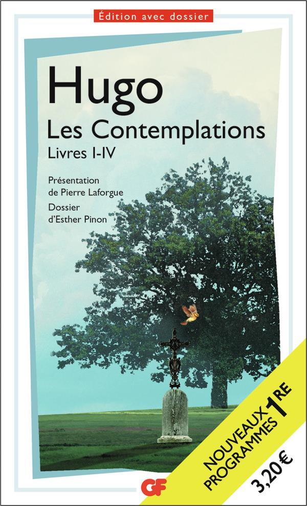 LES CONTEMPLATIONS LIVRE I-IV  FLAMMARION