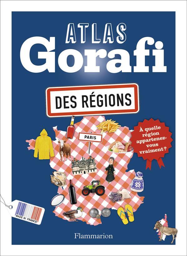 ATLAS GORAFI DES REGIONS BUISSIERE J-F. FLAMMARION