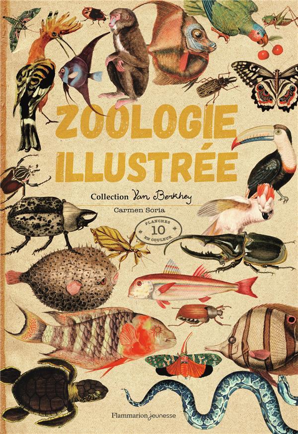 ZOOLOGIE ILLUSTREE - COLLECTION VAN BERKHEY