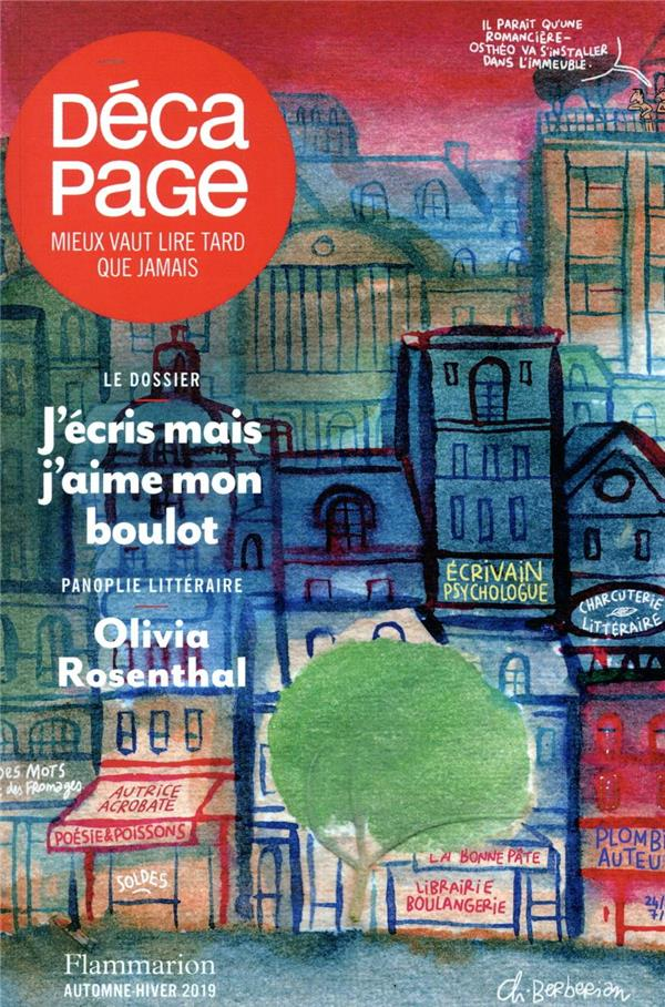 DECAPAGE COLLECTIF FLAMMARION