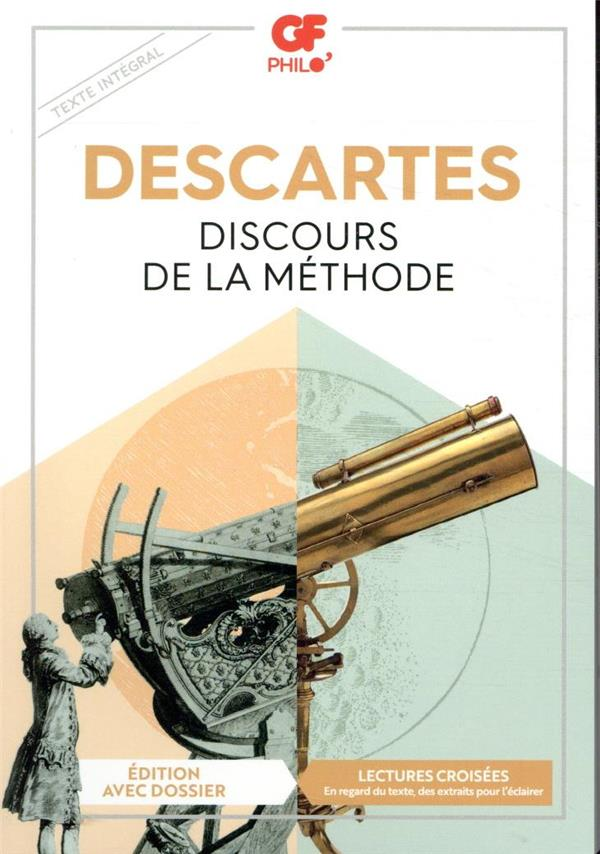 DISCOURS DE LA METHODE DESCARTES RENE FLAMMARION
