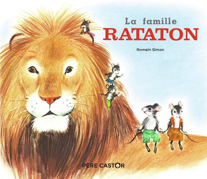LA FAMILLE RATATON ROMAIN SIMON FLAMMARION