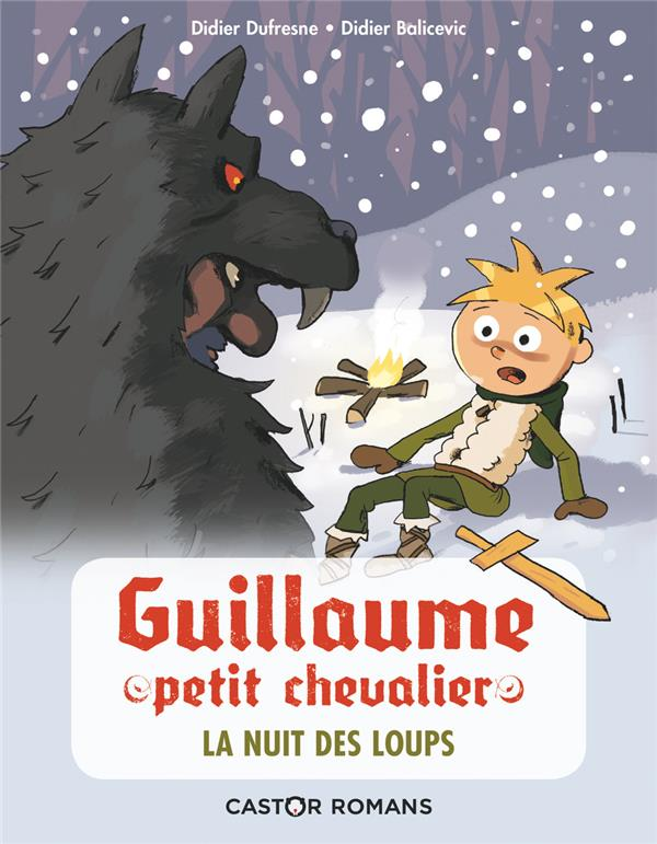 GUILLAUME PETIT CHEVALIER  -  LA NUIT DES LOUPS DIDIER DUFRESNE / DI FLAMMARION