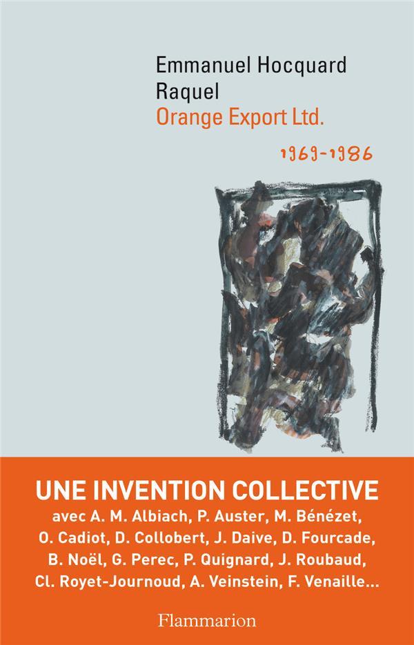 ORANGE EXPORT LTD  -  1969-1986