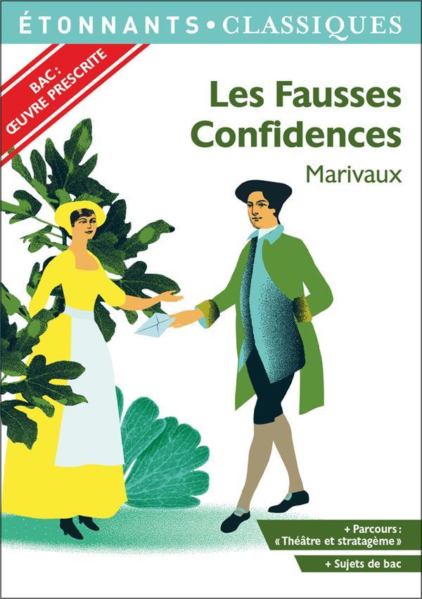 LES FAUSSES CONFIDENCES MARIVAUX FLAMMARION