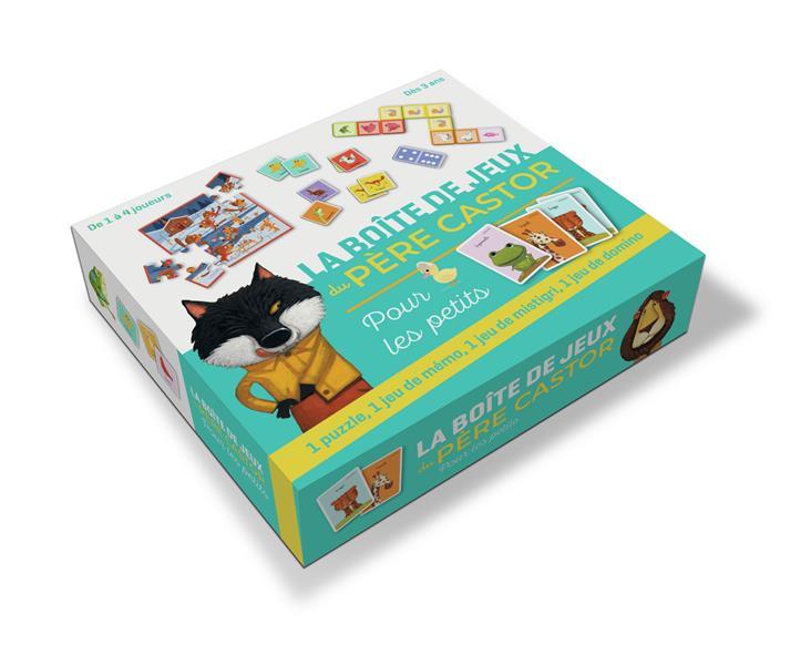 LA BOITE DE JEUX DU PEPEE CASTOR POUR LES PETITS COLLECTIF/BRUNELET NC