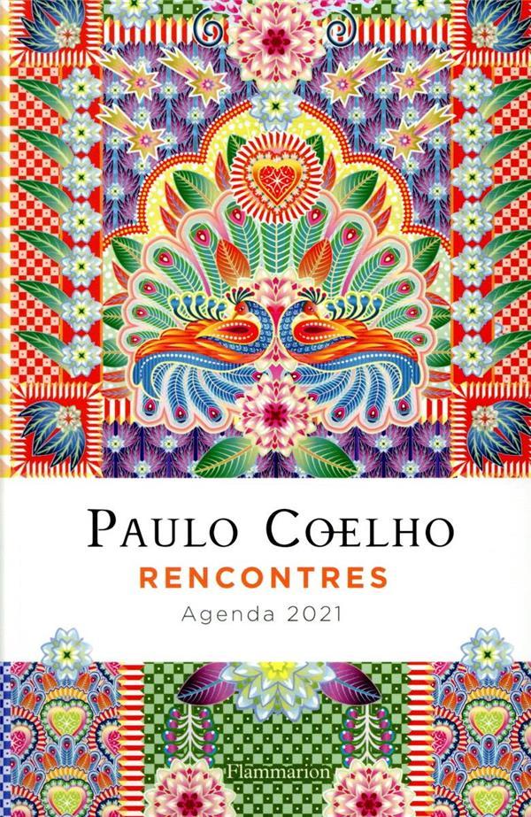 RENCONTRES  -  AGENDA (EDITION 2021) COELHO/ESTRADA FLAMMARION