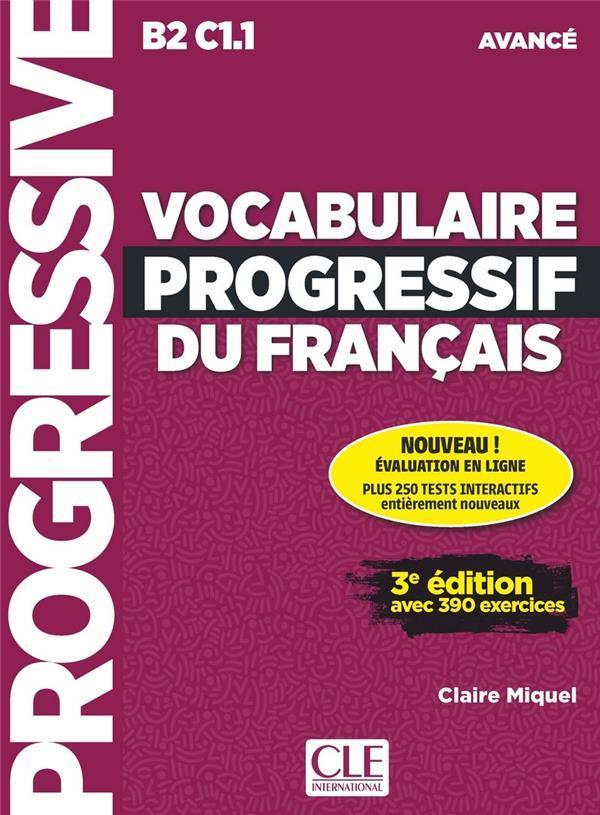 VOCABULAIRE PROGRESSIF DU FRANCAIS AVANCE + APPLI + CD 2ED