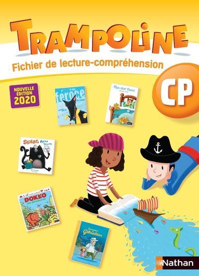 TRAMPOLINE  -  METHODE DE LECTURE  -  CP  -  FICHIER DE COMPREHENSION (EDITION 2020) COLLECTIF CLE INTERNAT