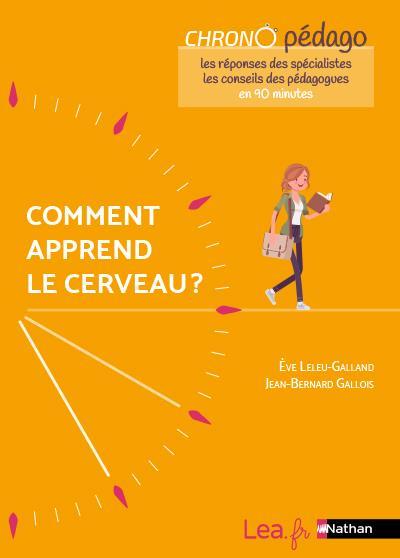 COMMENT APPREND LE CERVEAU ? CHRONO PEDAGO (EDITION 2021) GALLOIS, JEAN-BERNARD  CLE INTERNAT