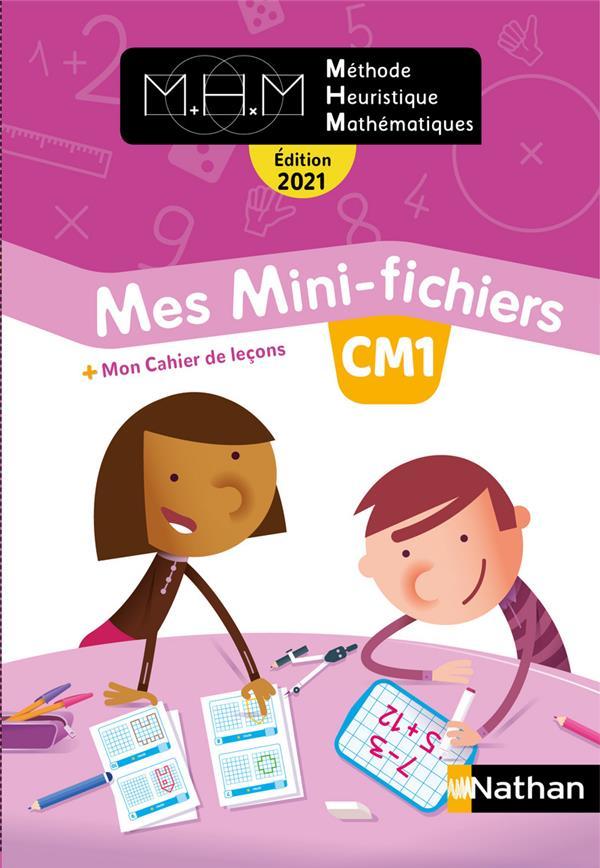 MHM - LA METHODE HEURISTIQUE DE MATHEMATIQUES  -  CM1  -  MES MINI-FICHIERS