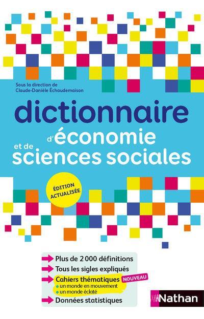 DICTIONNAIRE D-ECONOMIE ET DE SCIENCES SOCI ALES