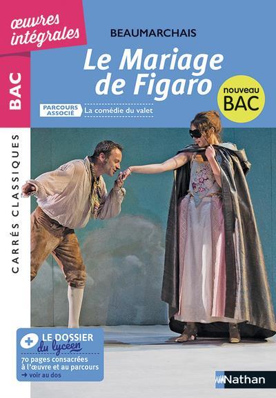 LE MARIAGE DE FIGARO BEAUMARCHAIS/BOMHARD CLE INTERNAT
