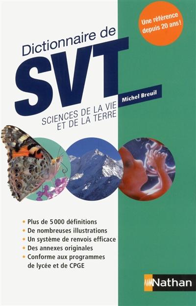 DICTIONNAIRE DE SVT SCIENCES DE LA VIE ET DE LA TERRE  CLE INTERNAT