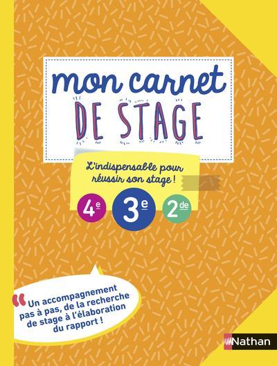 MON CARNET DE STAGE GISSINGER/LACOMBE CLE INTERNAT