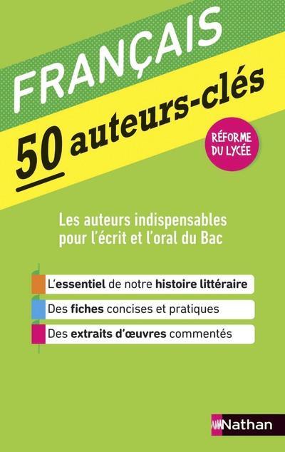 50 AUTEURS-CLES - FRANCAIS