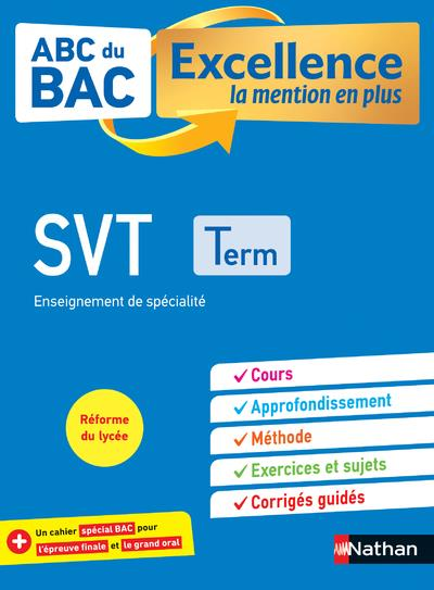 ABC DU BAC EXCELLENCE T.8  -  SCIENCE DE LA VIE ET DE LA TERRE  -  TERMINALE (EDITION 2020)