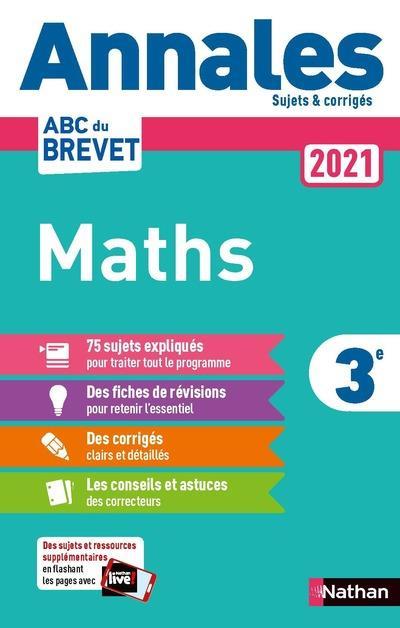 ANNALES ABC BREVET T.3  -  MATHEMATIQUES  -  3E (EDITION 2021)