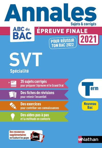 ANNALES ABC BAC  -  SUJETS et CORRIGES T.25  -  SCIENCE ET VIE DE LA TERRE  -  TERMINALE (EDITION 2020)  COLLECTIF CLE INTERNAT
