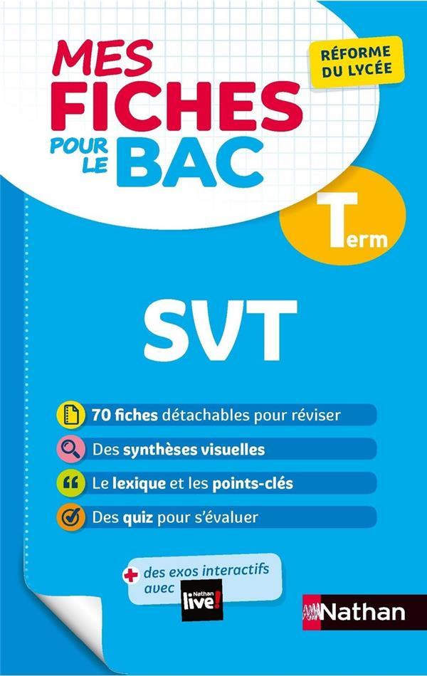 MES FICHES ABC DU BAC T.11  -  SCIENCES DE LA VIE ET DE LA TERRE  -  TERMINALE (EDITION 2020)