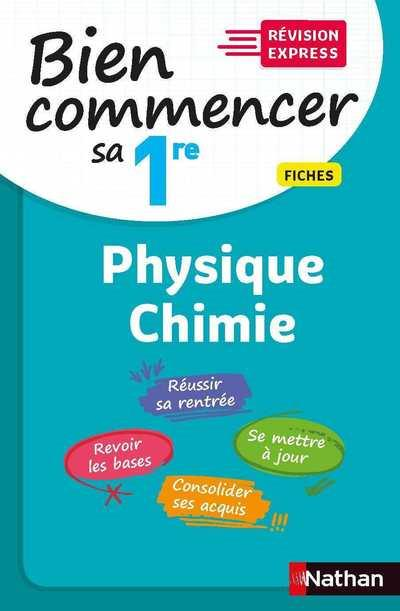 BIEN COMMENCER SA 1RE  -  PHYSIQUE-CHIMIE (EDITION 2020) COLLECTIF CLE INTERNAT