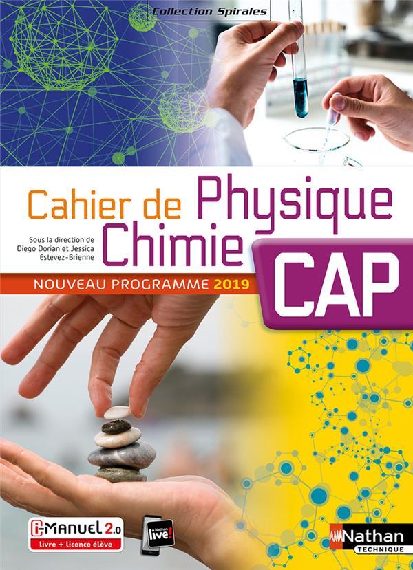Cahier De Physique Chimie - Cap (spirales) - Livre + Licence Eleve - 2019