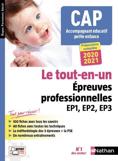 CAP ACCOMPAGNANT EDUCATIF PETITE ENFANCE - LE TOUT-EN-UN - EPR EP1 EP2 EP3 + PSE - (EFS)  CLE INTERNAT