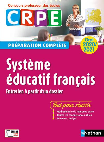 SYSTEME EDUCATIF FRANCAIS  -  ORAL (EDITION 20202021)