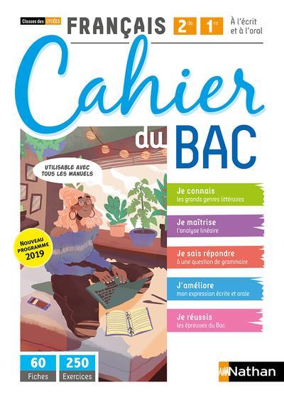 FRANCAIS     2DE, 1RE     CAHIER DU BAC     CLASSES DES LYCEES     LIVRE DE L'ELEVE (EDITION 2020)