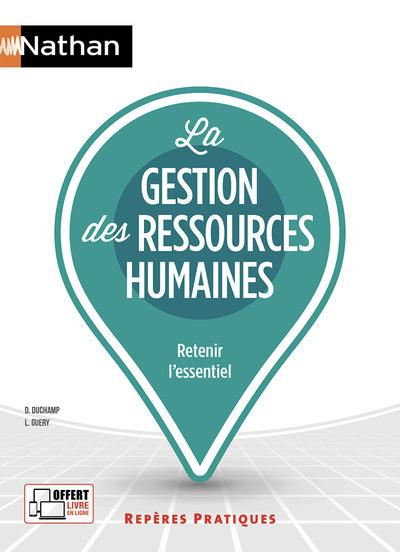 LA GESTION DES RESSOURCES HUMAINES (EDITION 2020) DUCHAMP, DAVID  CLE INTERNAT