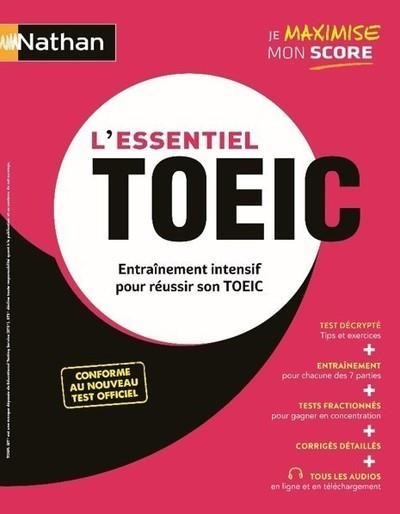 L'ESSENTIEL TOEIC  -  ENTRAINEMENT INTENSIF POUR REUSSIR SON TOEIC (EDITION 2020)  COLLECTIF CLE INTERNAT