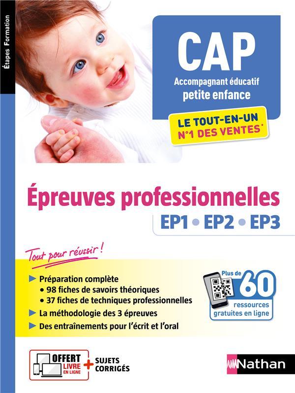 CAP ACCOMPAGNANT EDUCATIF PETITE ENFANCE  -  EPREUVES PROFESSIONNELLES EP1, EP2, EP3 (EDITION 2020) COLLECTIF CLE INTERNAT