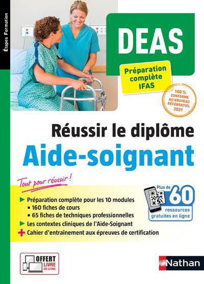 DEAS : REUSSIR LE DIPLOME D'AIDE SOIGNANT (EDITION 2020) REBIH, LOUISA  CLE INTERNAT
