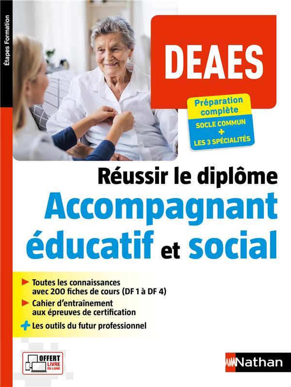 DEAES  -  REUSSIR LE DIPLOME ACCOMPAGNANT EDUCATIF ET SOCIAL (EDITION 2020) COLLECTIF CLE INTERNAT