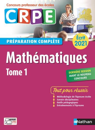 MATHEMATIQUES T.1  -  PREPARATION COMPLETE  -  ECRIT (EDITION 2021) CHERMAK, SAID  CLE INTERNAT