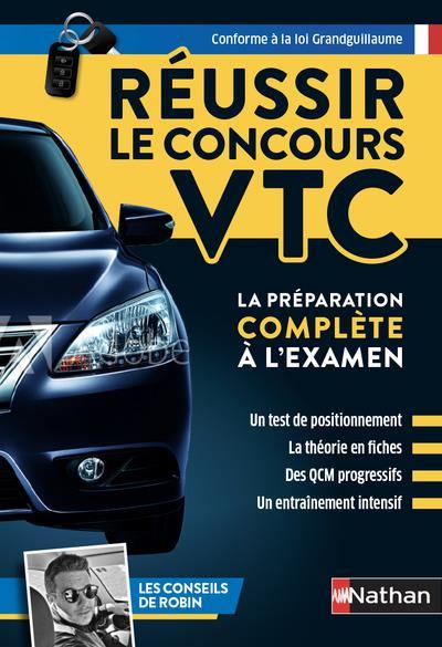 REUSSIR LE CONCOURS VTC (EDITION 2021)