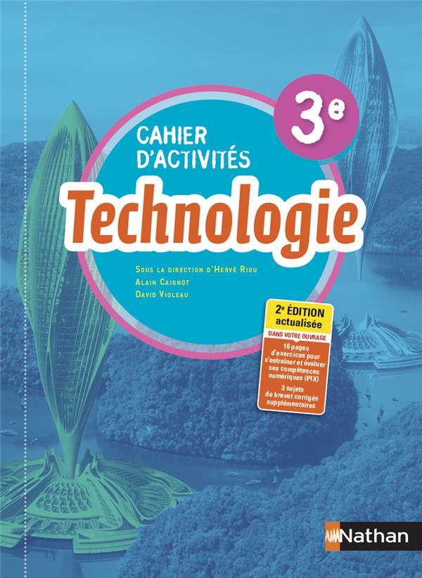TECHNOLOGIE - CAHIER D-ACTIVIT CAIGNOT/VIOLEAU CLE INTERNAT